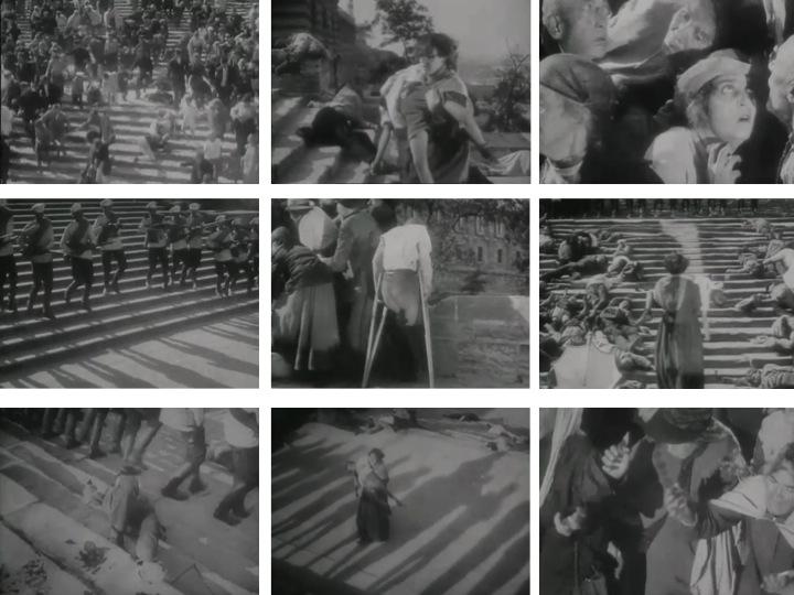 Fotogramas de El acorazado Potemkin, Sergei M. Eisenstein. 1925