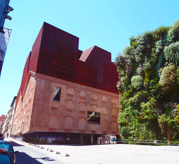 Caixa Forum Madrid. Fuente: Wikimedia Commons