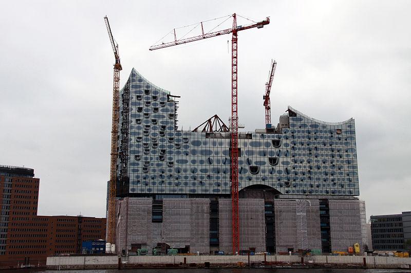 Elbphilarmomie, Hamburgo 2003-16. Fuente: Wikimedia Commons