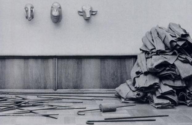 Joseph Beuys, Feuerstätte 2. 1978. Fuente: