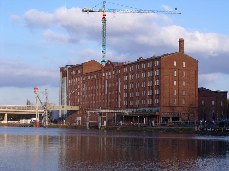 Küppersmühle Museum, Duisburg. 1997-99. Fuente: Wikimedia Commons