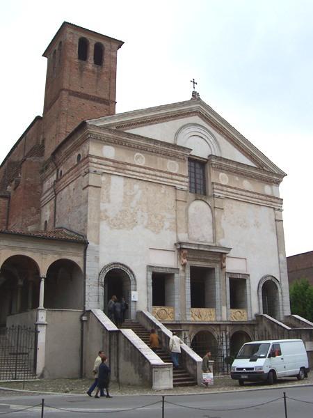 L. B. Alberti, San Sebastiano en Mantua. 1460-? Fuente: MarkusMark vía Wikimedia Commons