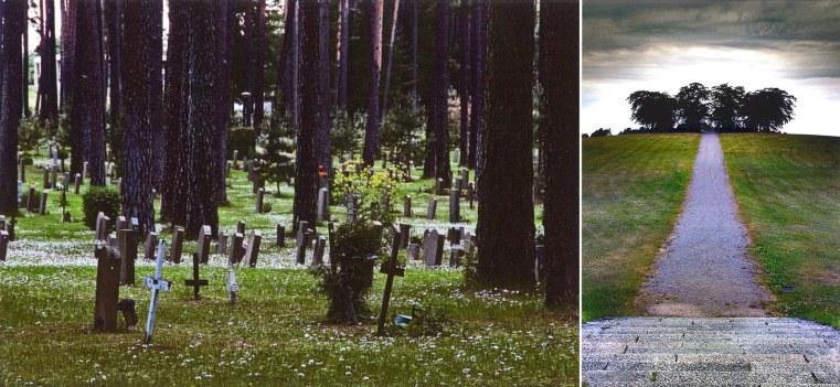 Enterramientos y colina de la meditación, 2007. Fuente: G. Carabí / L. Tsi
