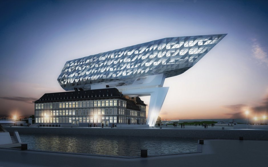 Port House. Antwerp, 2008. Fuente: Zaha Hadid Architects