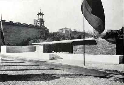 Mies van der Rohe. Pabellón de Alemania, 1929. Fuente: Xtec