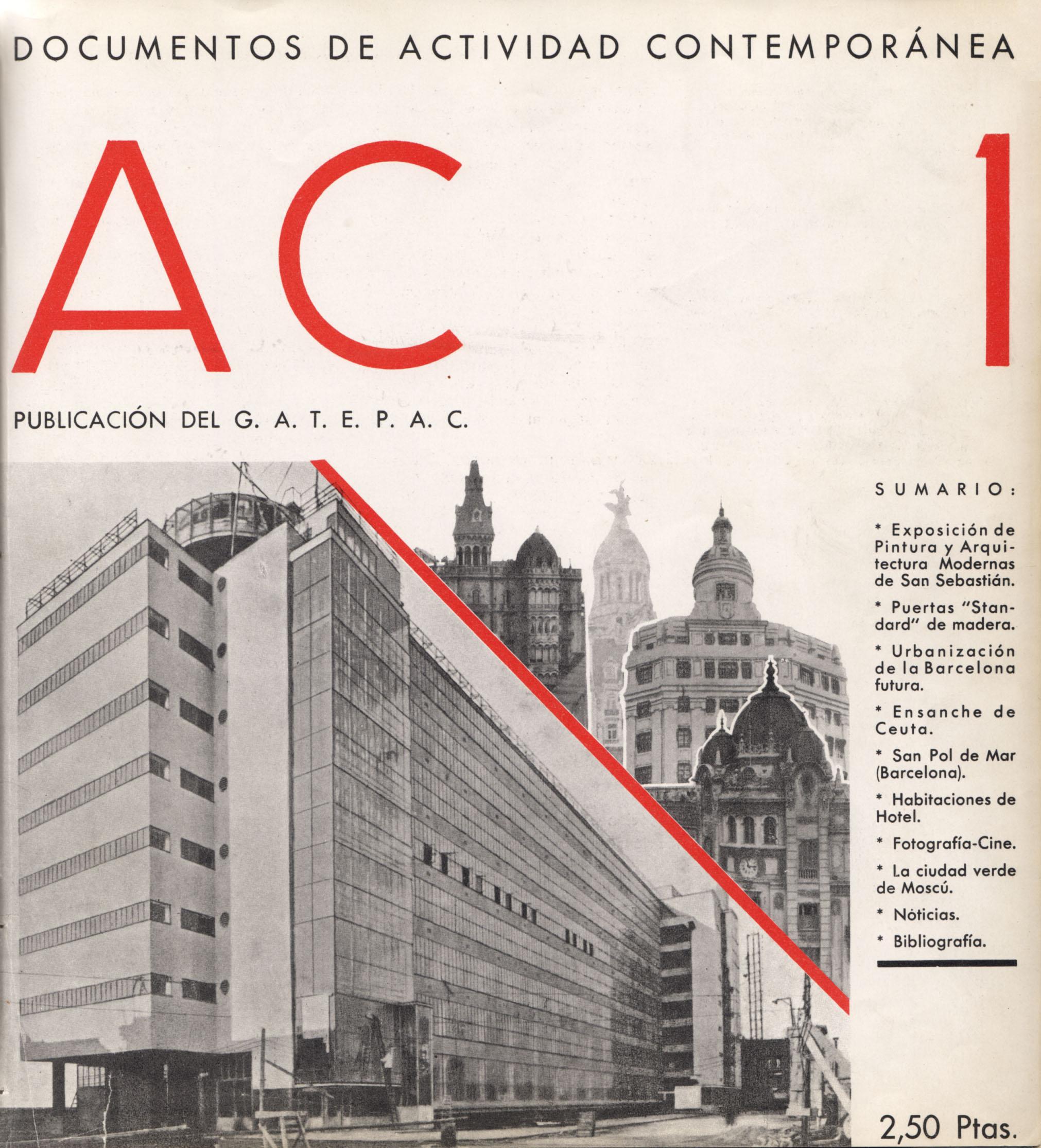 De las exposiciones al manifiesto los g rmenes del for Revistas arquitectura espana