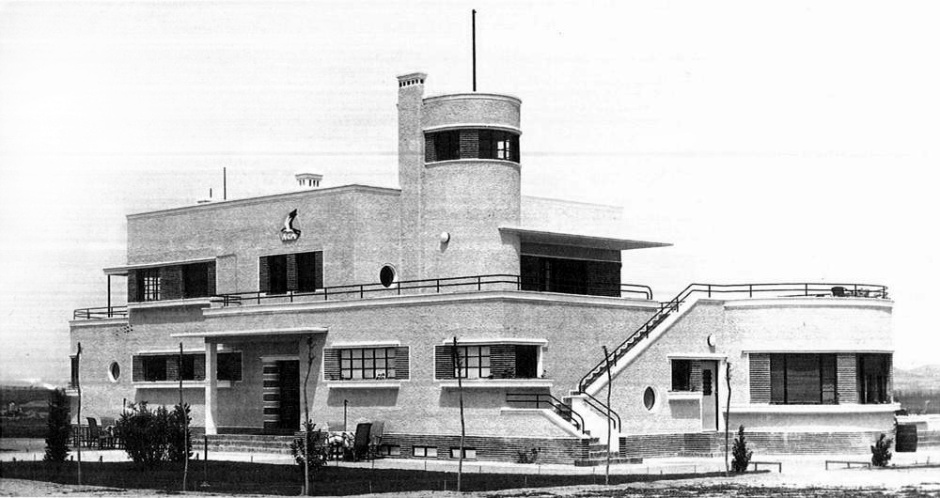 Luis Gutiérrez Soto, Café restaurante en el aeropuerto de Barajas, 1931. Fuente: Urban Idade