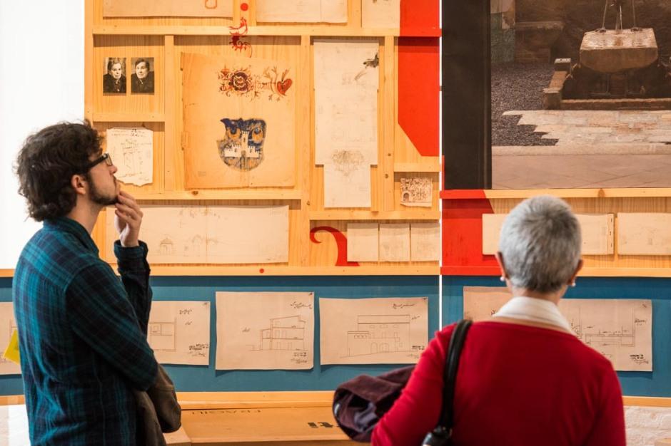 Tríptic casa Bofarull al Centre d'Art Contemporani Fabra&Coats. Fotografia: Pep Herrero