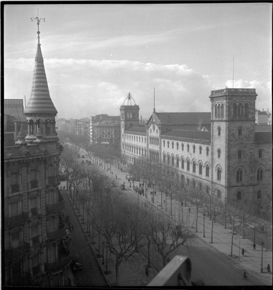 Universitat de Barcelona, 1912. Font: ICC