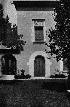 A. Puig i Gairalt, Casa Guarro. 1921-23. Imatge: La Ciutat i la Casa, n. 1, 1926.