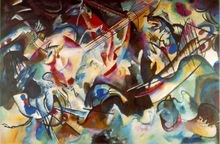 Vassily Kandinsky, 1913. Composition VI. Font: Wikimedia Commons